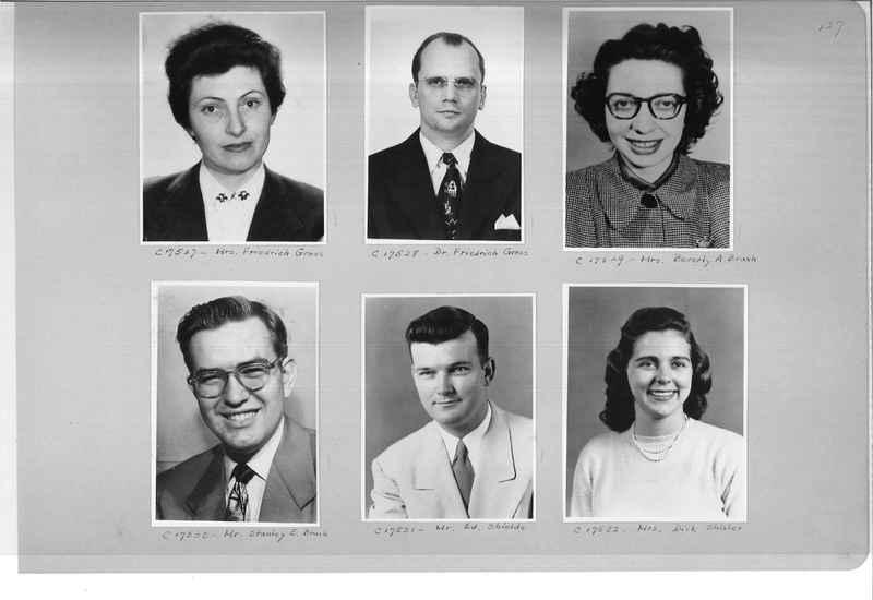 Mission Photograph Album - Portraits #07 Page 0127