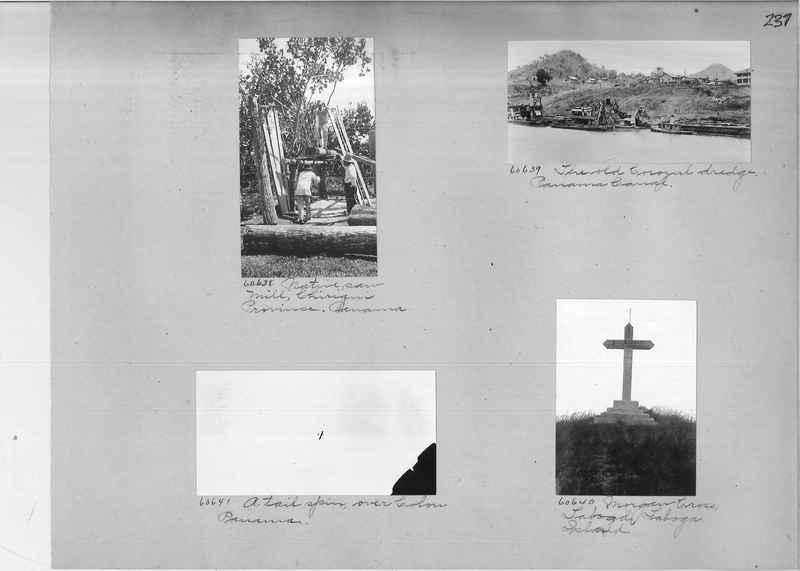 Mission Photograph Album - Panama #02 page 0237