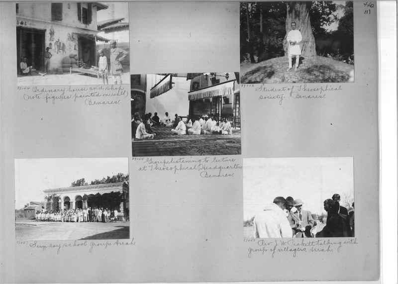 Mission Photograph Album - India #10 Page 0111