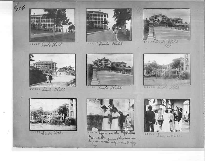 Mission Photograph Album - Panama #1 page  0196