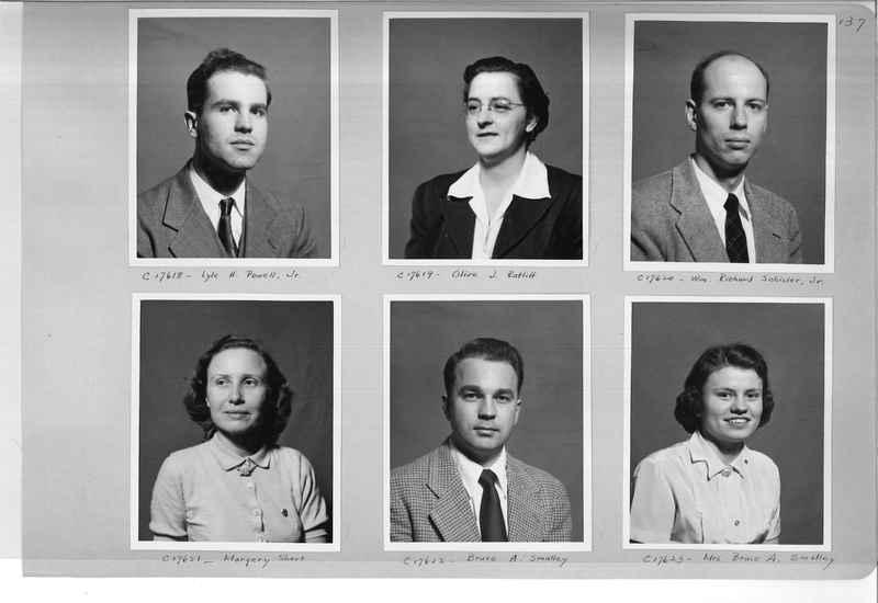 Mission Photograph Album - Portraits #07 Page 0137