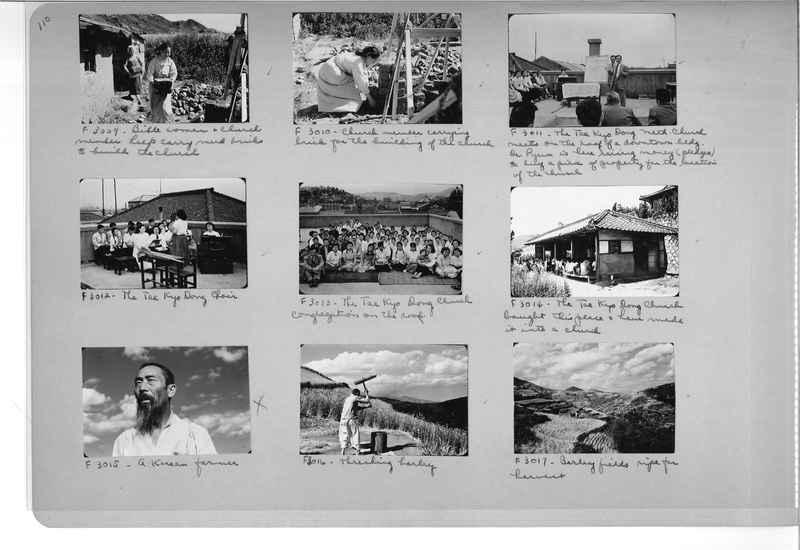 Mission Photograph Album - Korea #6 page 0110