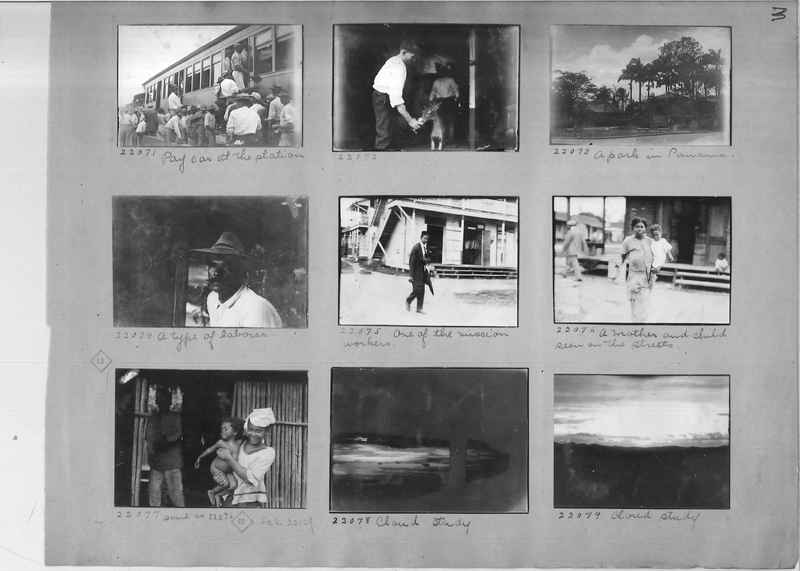 Mission Photograph Album - Panama #02 page 0003