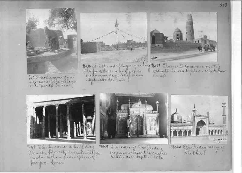 Mission Photograph Album - India #10 Page 0213