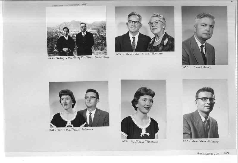Mission Photograph Album - Portraits #12 Page 0001
