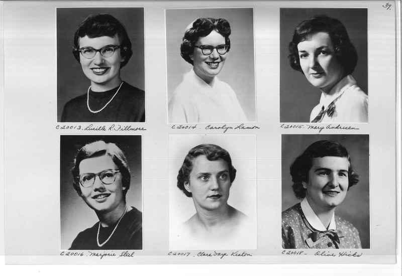 Mission Photograph Album - Portraits #09 Page 0039