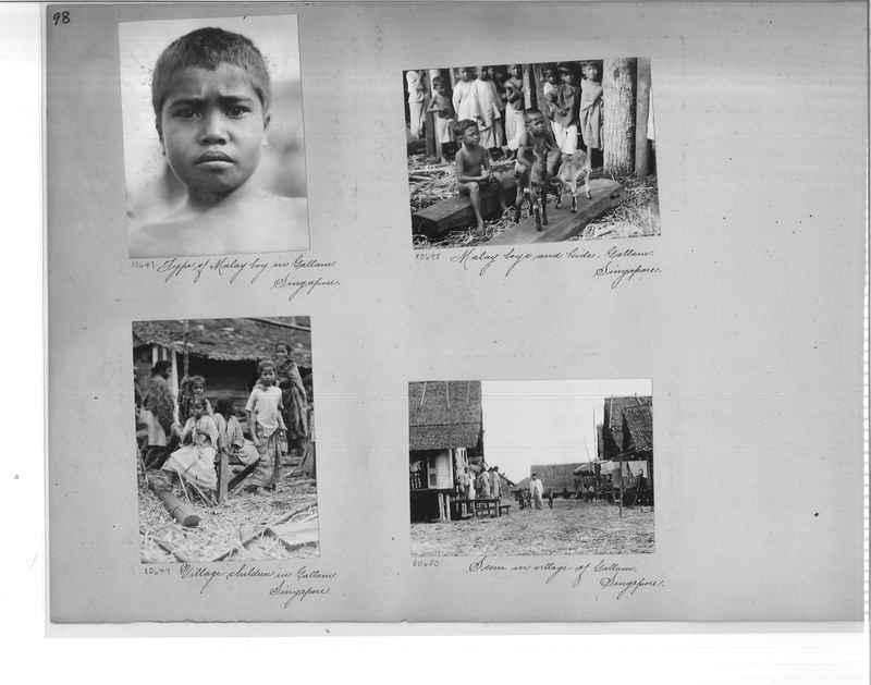 Mission Photograph Album - Malaysia #6 page 0098