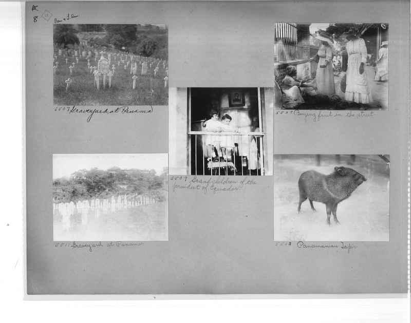 Mission Photograph Album - Panama #1 page  0008