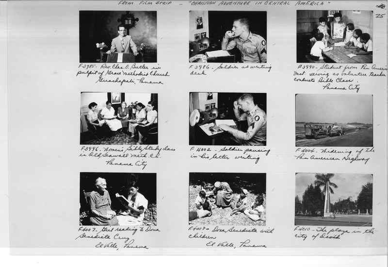Mission Photograph Album - Panama #05 page 0025