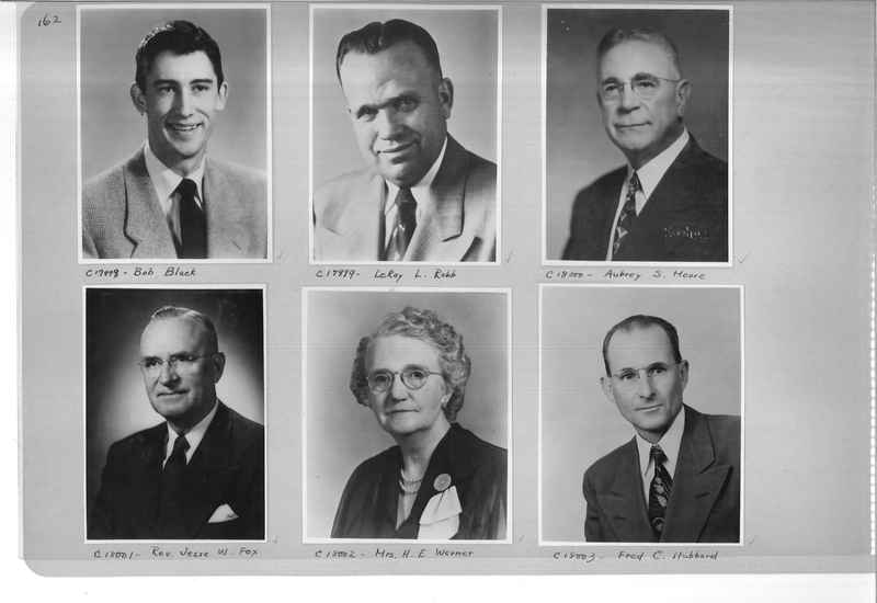 Mission Photograph Album - Portraits #07 Page 0162
