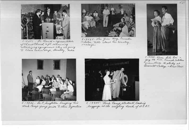 Mission Photograph Album - Portraits #13 Page 0065