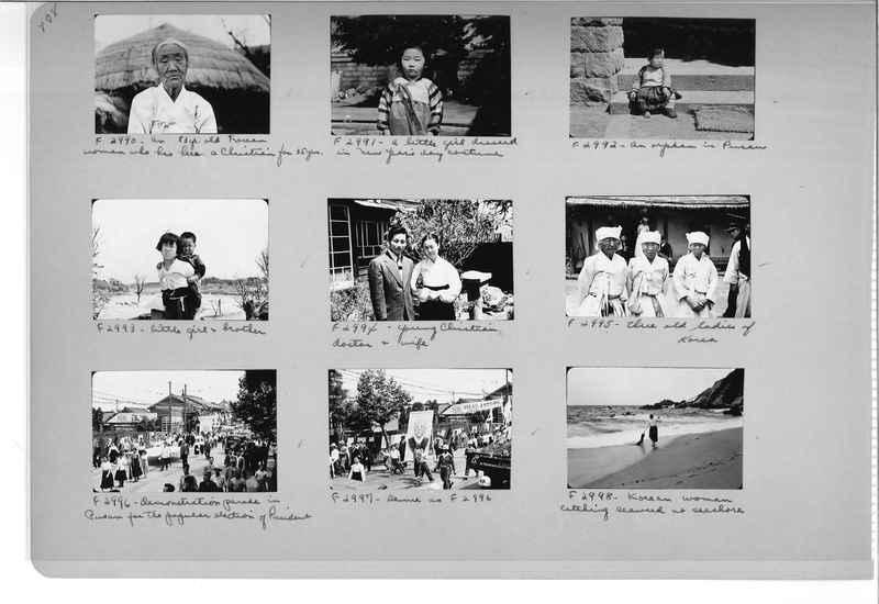 Mission Photograph Album - Korea #6 page 0108