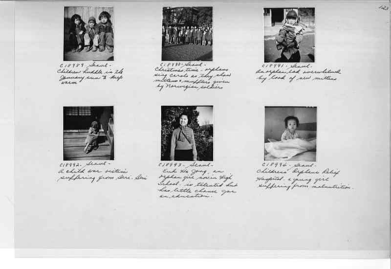 Mission Photograph Album - Korea #6 page 0123
