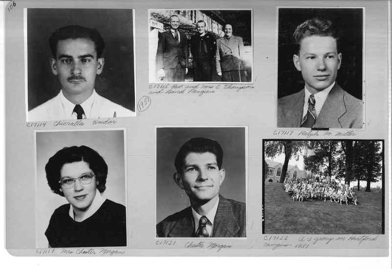 Mission Photograph Album - Portraits #07 Page 0106