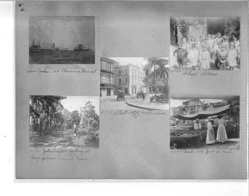 Mission Photograph Album - Panama #1 page  0010