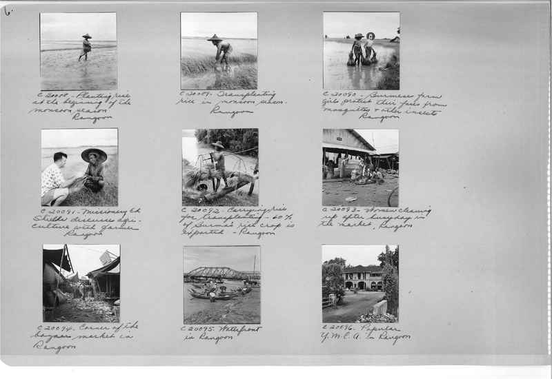 Mission Photograph Album - Burma #3 page 0006