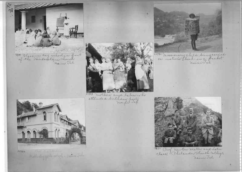 Mission Photograph Album - India #10 Page 0078