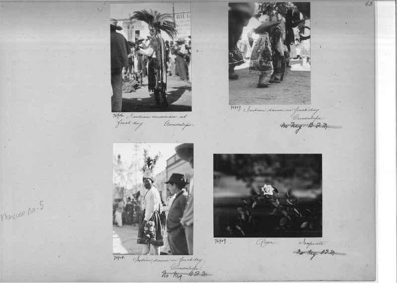 Mission Photograph Album - Mexico #05 page 0063