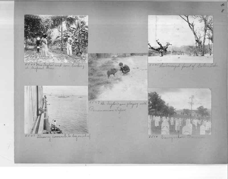 Mission Photograph Album - Panama #1 page  0011