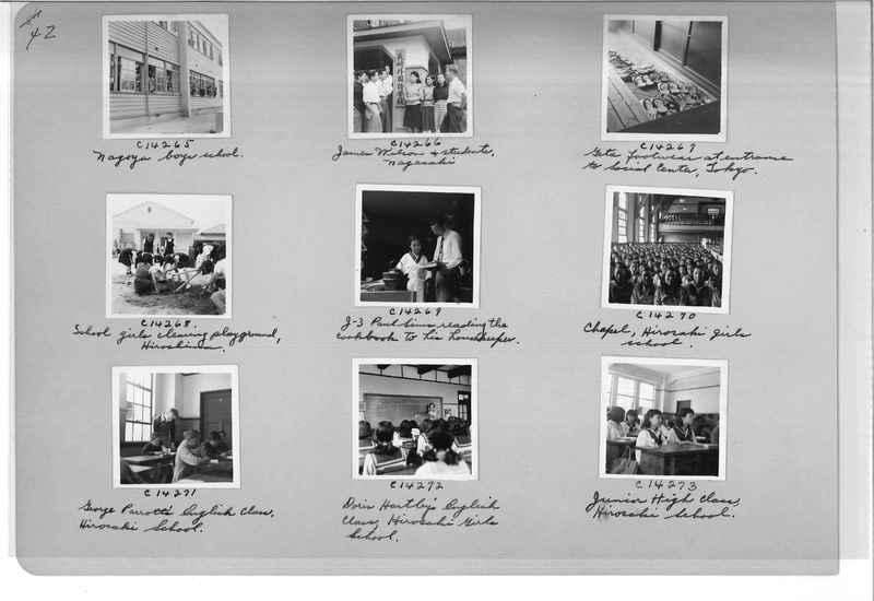 Mission Photograph Album - Japan #07 Page 0042