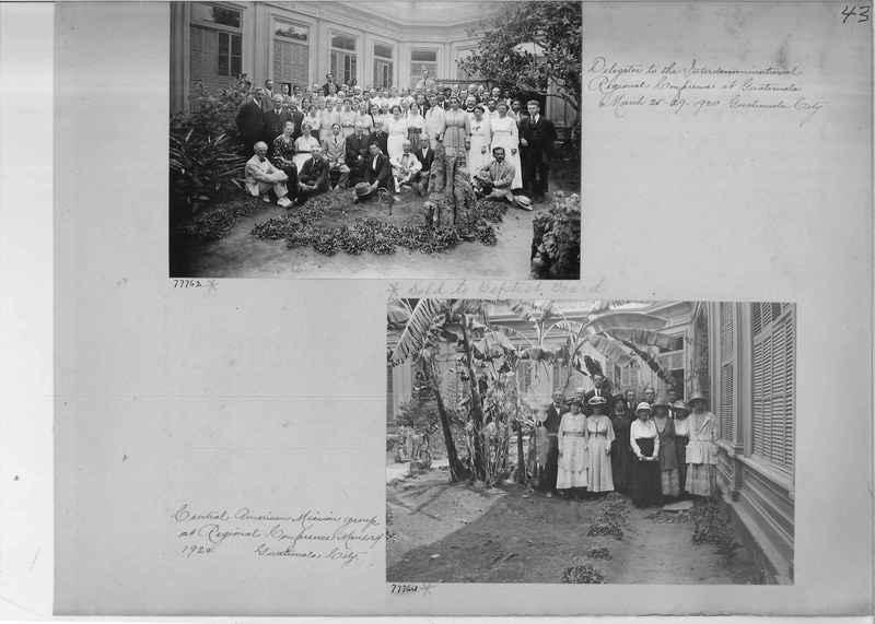 Mission Photograph Album - Panama #04 page 0043