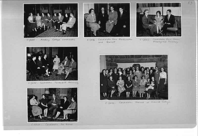 Mission Photograph Album - Portraits #13 Page 0053