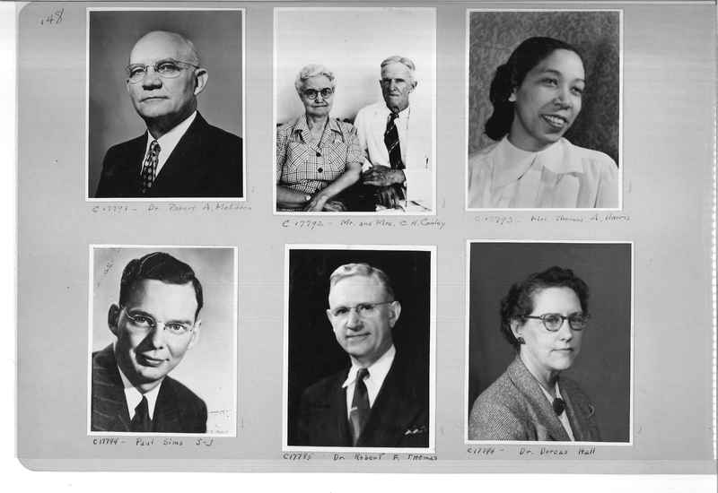 Mission Photograph Album - Portraits #07 Page 0148