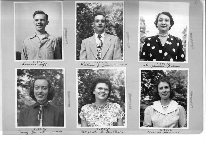 Mission Photograph Album - Portraits #07 Page 0057