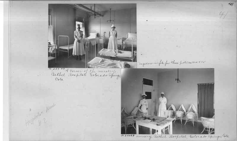Mission Photograph Album - Hospitals and Homes #2 page 0041