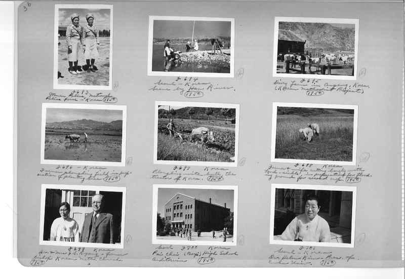 Mission Photograph Album - Korea #6 page 0036