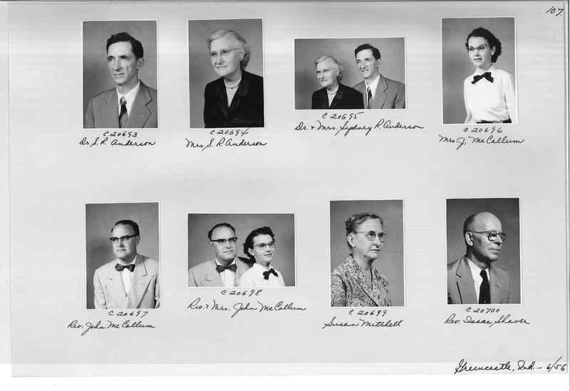 Mission Photograph Album - Portraits #09 Page 0107