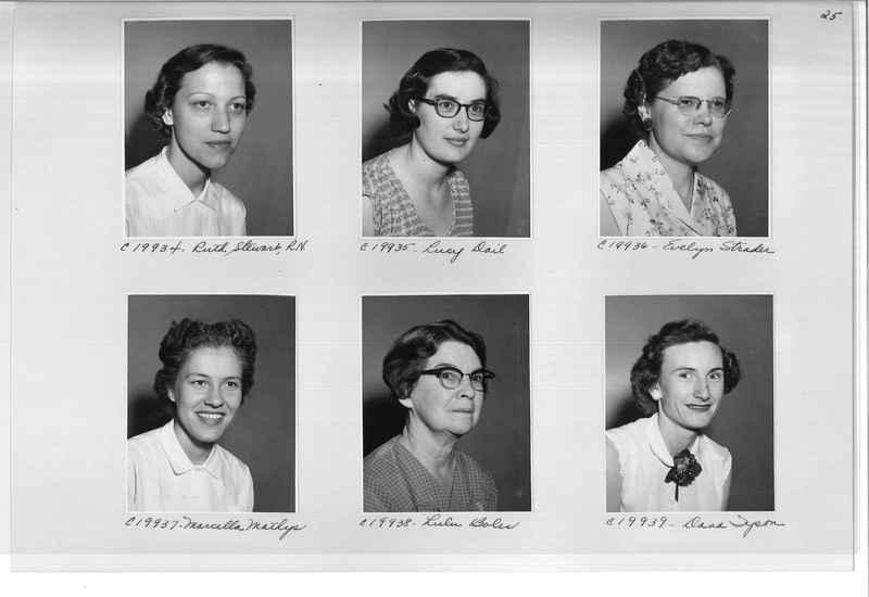 Mission Photograph Album - Portraits #09 Page 0025