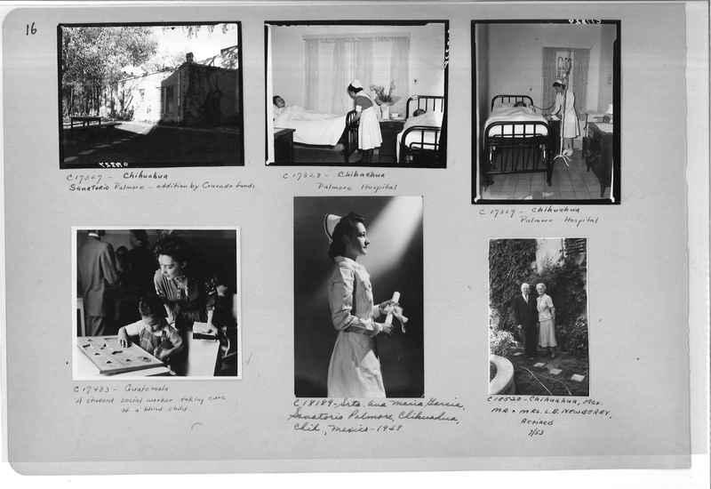Mission Photograph Album - Mexico #09 Page 0016