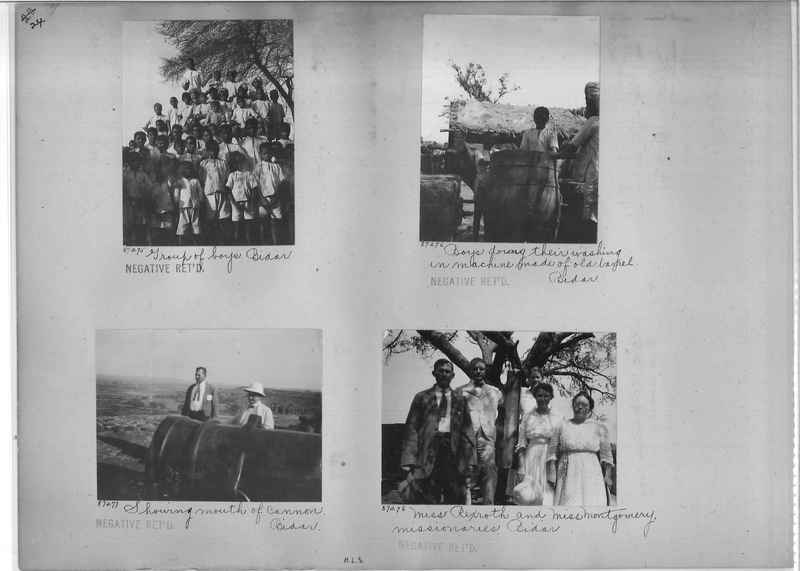 Mission Photograph Album - India #10 Page 0024