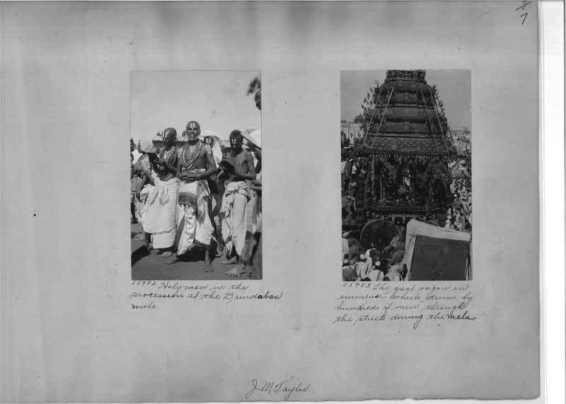 Mission Photograph Album - India #08 Page 0007