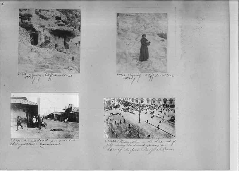 Mission Photograph Album - Europe #05 Page 0002