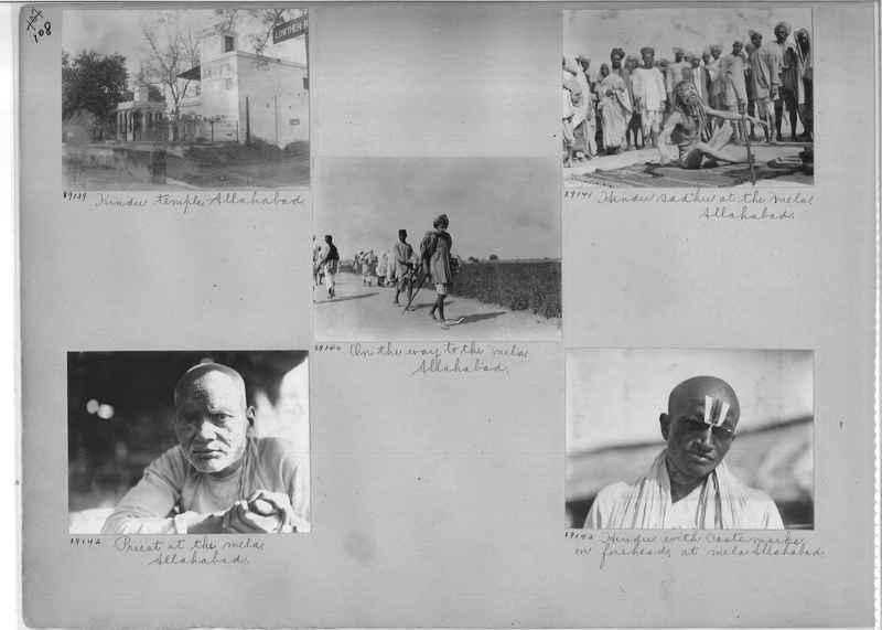Mission Photograph Album - India #10 Page 0108