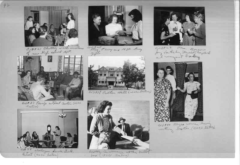 Mission Photograph Album - Portraits #13 Page 0042