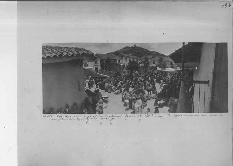 Mission Photograph Album - South America O.P. #1 page 0183
