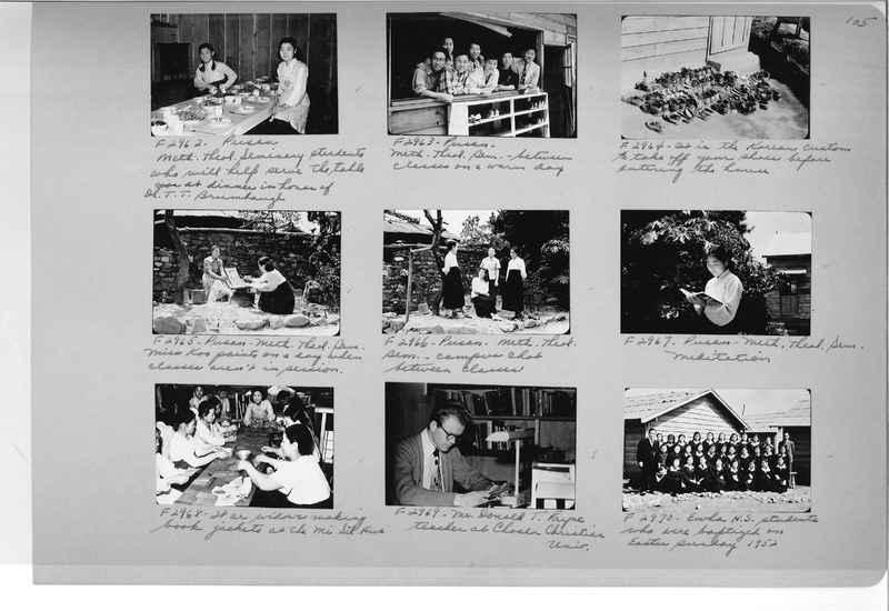 Mission Photograph Album - Korea #6 page 0105