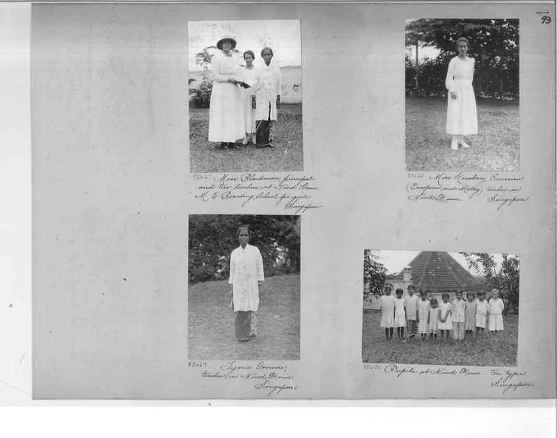Mission Photograph Album - Malaysia #6 page 0093