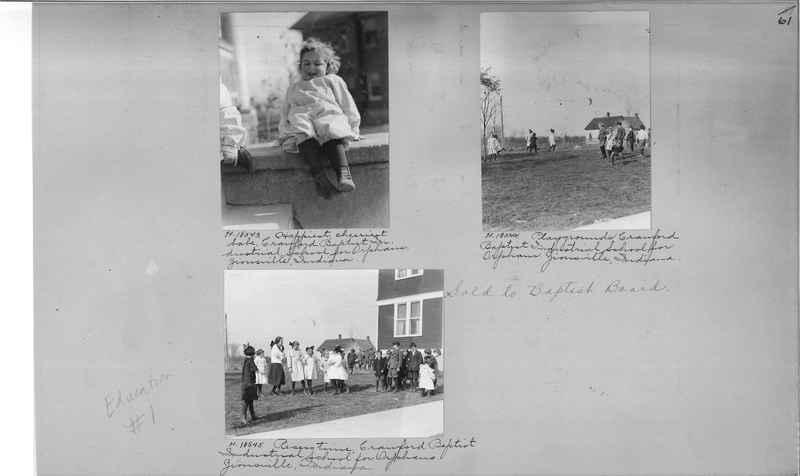 Mission Photograph Album - Education #1 page 0061