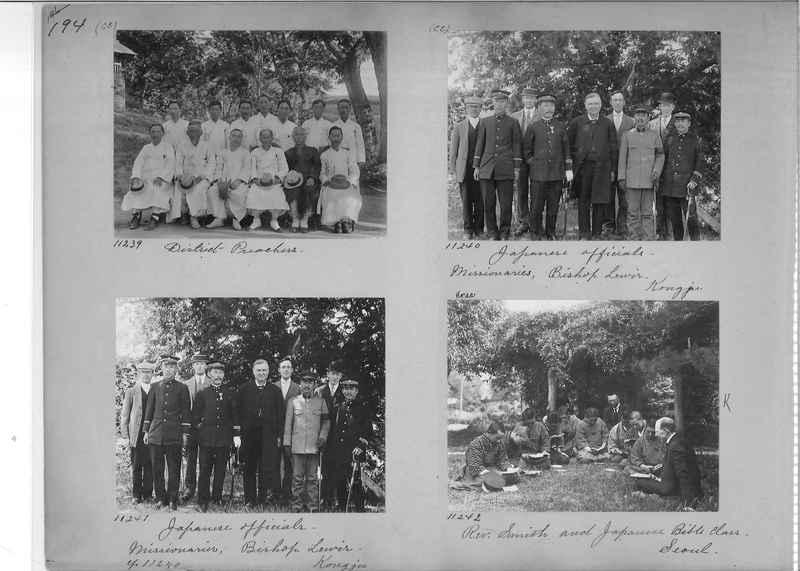 Mission Photograph Album - Korea #1 page 0194