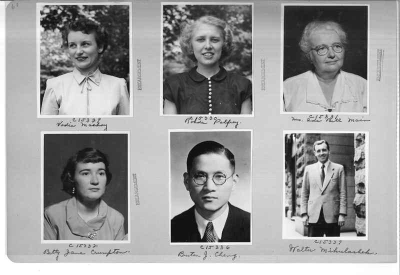 Mission Photograph Album - Portraits #07 Page 0060
