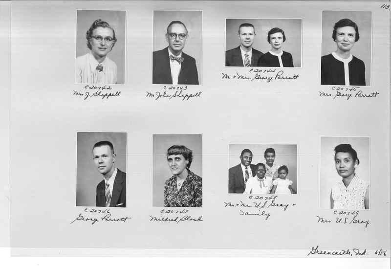 Mission Photograph Album - Portraits #09 Page 0113