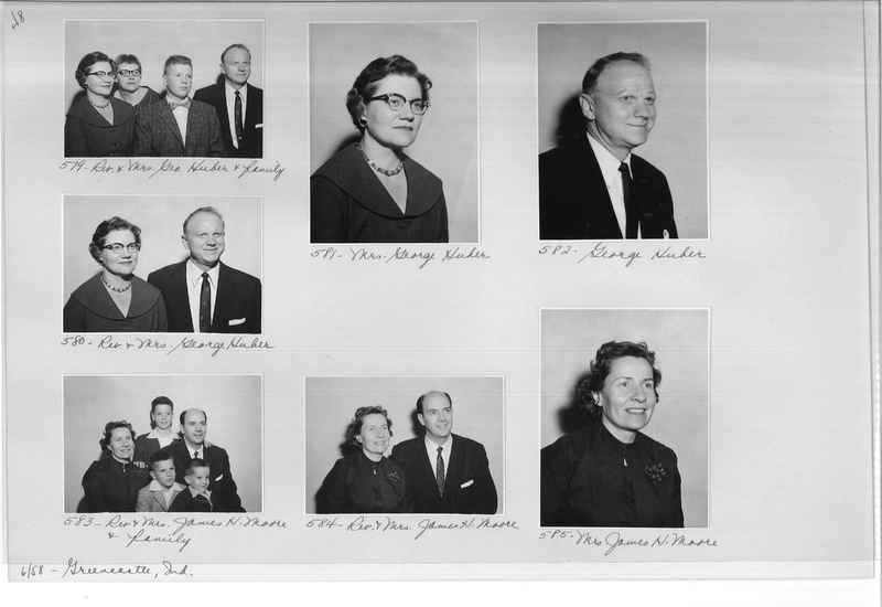 Mission Photograph Album - Portraits #11 Page 0048