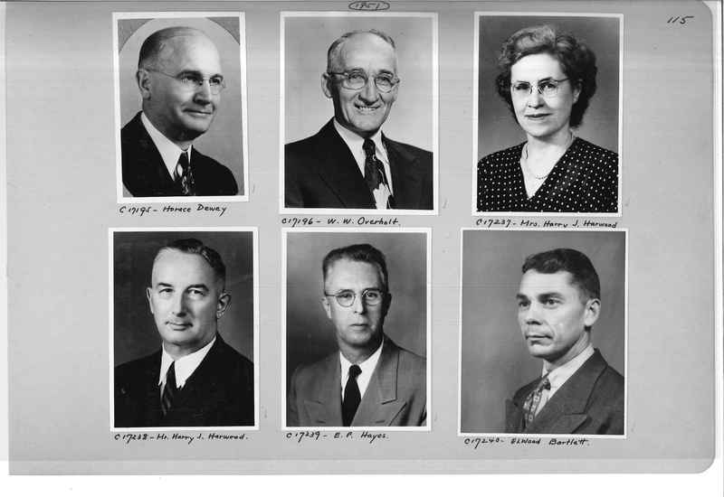 Mission Photograph Album - Portraits #07 Page 0115
