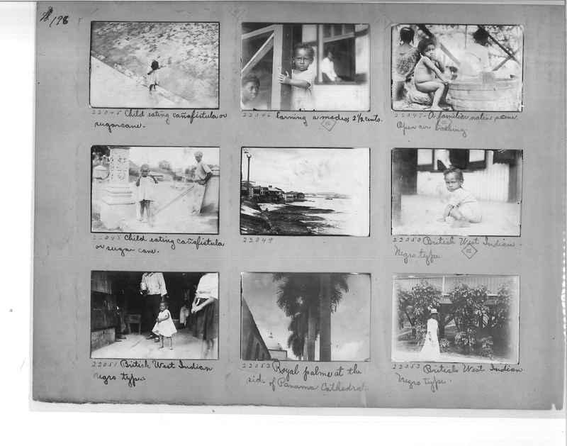 Mission Photograph Album - Panama #1 page  0198