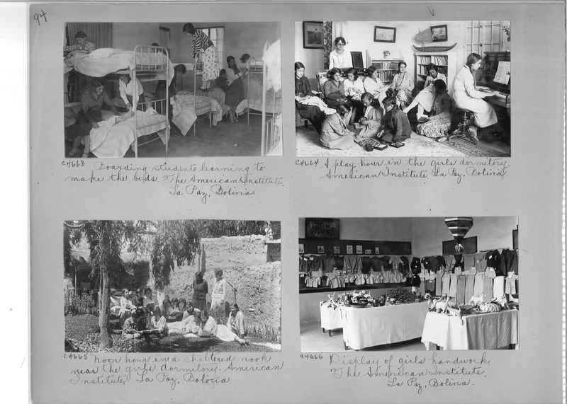 Misson Photograph Album - South America #8 page 0094