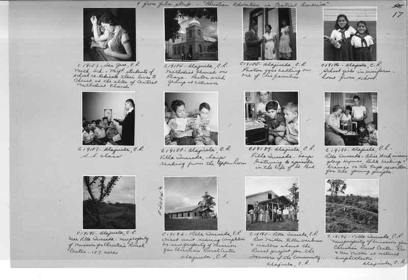 Mission Photograph Album - Panama #05 page 0017